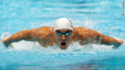 MIcheal Phelps Wins Olympic Silver In Mens 200 meter butterfly 18th lifetime medal ties the record!