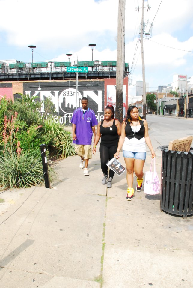 Team T.a.t.o.o in the city streets....