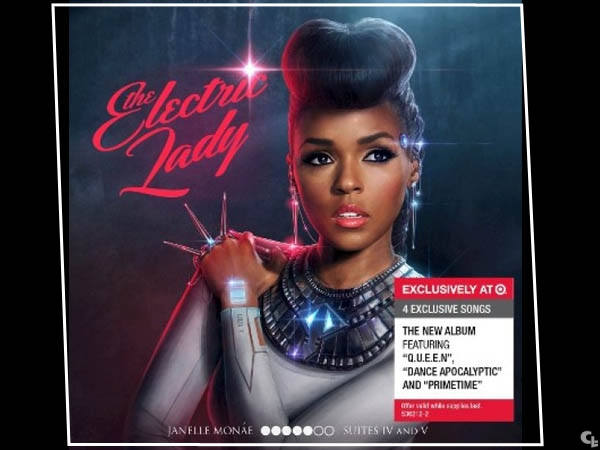 JANELLE MONAE'S NEW ALBUM ELECTRIC LADY IN STORES SEPT.10! #B.BRAVE