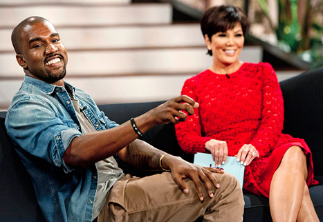 KANYE WEST'S , EXCLUSIVE SIT DOWN WITH KRIS JENNER ABOUT BABY NORTH AND HIS LOVE FOR KIM , ON THE  KRIS JENNER SHOW: FRIDAY 08/23/2013 ( Sneak Peak Inside)#B.Brave