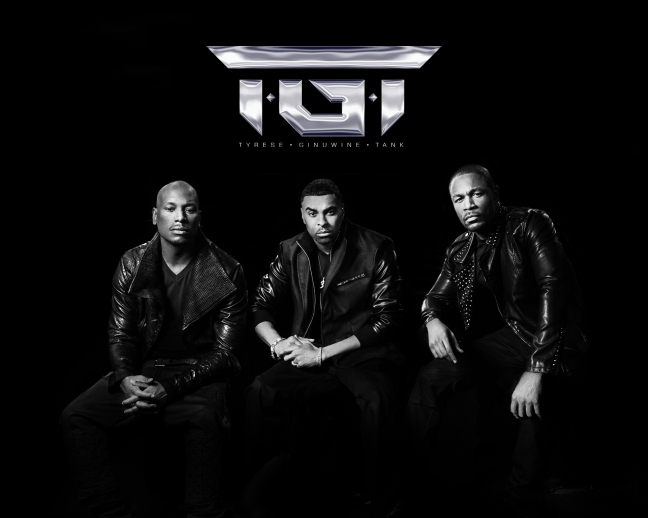 TGT ( TYRESE, GINUWINE, TANK ) ALBUM # 1 TODAY! #B.BRAVE