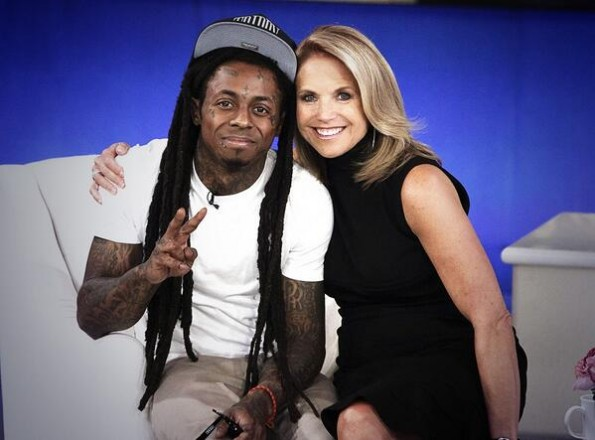 SEASON 2 PREMIERE OF KATIE COURIC SHOW W/EXCLUSIVE SIT DOWN INTERVIEW W/GRAMMY AWARD WINNING ARTIST/CEO LIL WAYNE.#B.BRAVE