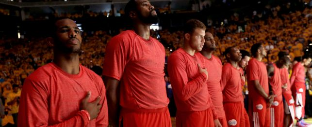 Chris Paul, DeAndre Jordan, Blake Griffin